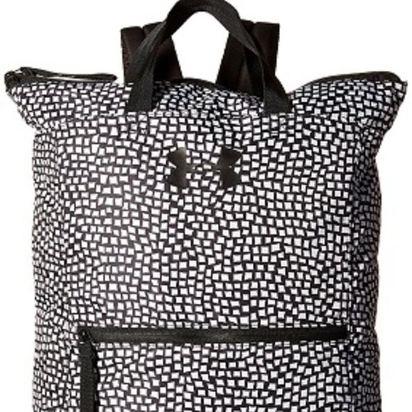 5c278a7f50 NWT Under Armour Multi Tasker Backpack-Black/White